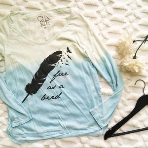 Chaser Light as a Feather Long Sleeve Tee